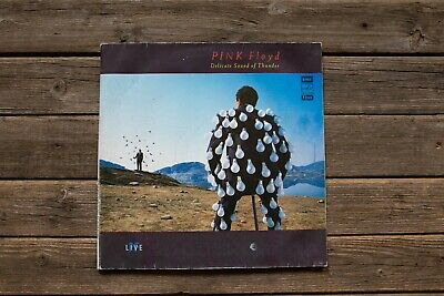 """Vinyl record """"Delicate Sound Of Thunder"""" is Pink Floyd's 1988"""