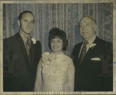 1970 Press Photo New Officers of the Conservative Congregation of New Orleans