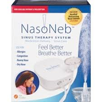 NasoNeb Sinus Therapy System/ Medication Delivery for Sinus Care NIB EXP 7/2022