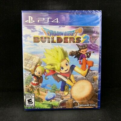 Dragon Quest Builders 2 (PS4 / PlayStation 4) BRAND NEW / Region Free