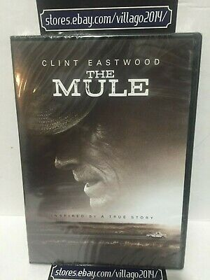 The Mule (Dvd 2019) Clint Eastwood  New With   Free  Shipping/track