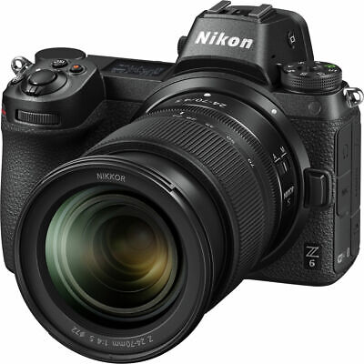 Nikon Z 6 Mirrorless Digital Camera w/ 24-70mm Lens 1598
