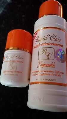 Rapid Clair Lotion 500ml and Serum 100ml