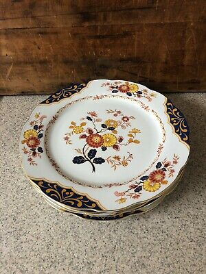 Premiere China Canton Fair Dinner Plate Set Of 4