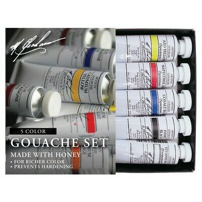 M.graham & Co. 36Set M Graham 5 Color Basic Gouache Set