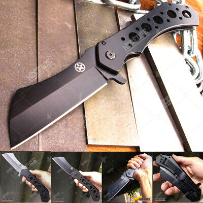 "10.25"" Survival/Tactical Gear CLEAVER CAMPING HUNTING MILITARY Assisted Knife"