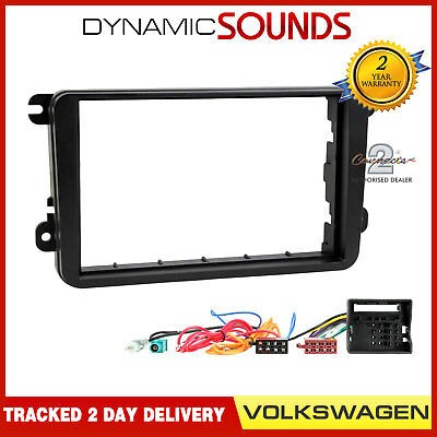 VW Sharan 1999-2005 CD Autoradio Blende Doppel Din Montagesatz Luft