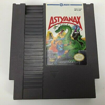 Astyanax (Nintendo Entertainment System, 1990) Authentic-Tested and Works