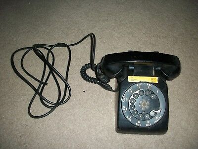 Vintage Black Telephone ….Rotary Dial....western Electric/ Bell Telephone