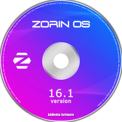 ZORIN OS 15 LTS *Core Edition* 64-Bit LIVE/Install DVD (New Release