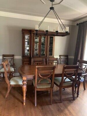 Ashley Furniture Dining Room Table Set China Cabinet Millennial