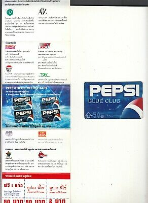 Thailand Pepsi cola Mint Phonecard from the 90's.
