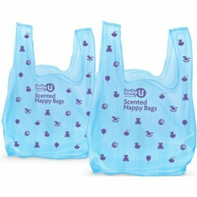 BABY U Scented BABYU Nappy Bags Sack 50 Convenient Disposal Fragrance Hygienic