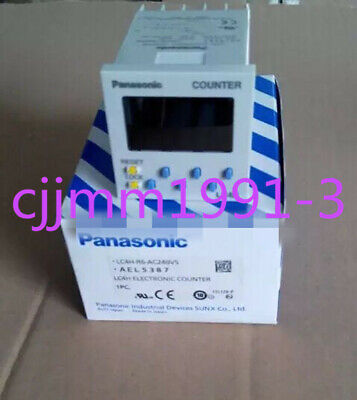 New  LC4H-R6-DC24VS AEL5381 LC4HR6DC24VS   Panasonic LC4H Counter #FP