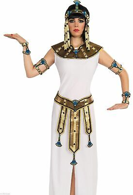 Womens Female Deluxe Gold Cleopatra Belt Sash Egyptian Adult Costume Accessory
