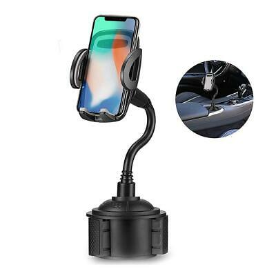Car Cell Phone Stand Adjustable Holder Universal Auto Mouth Cup Phone Bracket