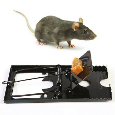 Reusable Mouse Rat Snap Traps Control Trap-Easy Mice Catching Catcher Mousetraps