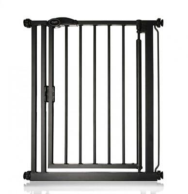 Safetots Auto Close Baby Gate Noir mat Gamme (68.5 cm - 75 cm) 68.5cm - 75cm