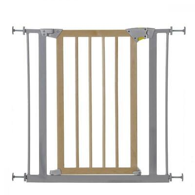 Hauck Deluxe Wood and Metal, Barriere de securite en Bois et Metal pour...