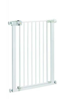 Safety 1st U-Pressure Easy Close Extra Tall Barriere en Metal Blanc