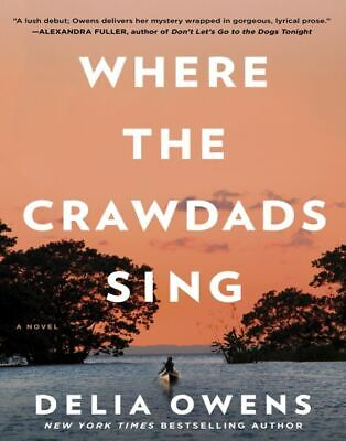 Where The Crawdads Sing By Delia Owens 2018 (Eb00k,PDF,Best Seller)
