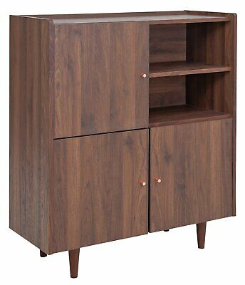 Argos Home Lola 3 Door Sideboard - Walnut Effect