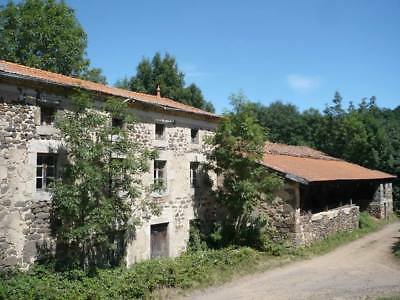 South France Family Large Farmhouse & Barn + Land 2300m2 Renovation 19thC 43300