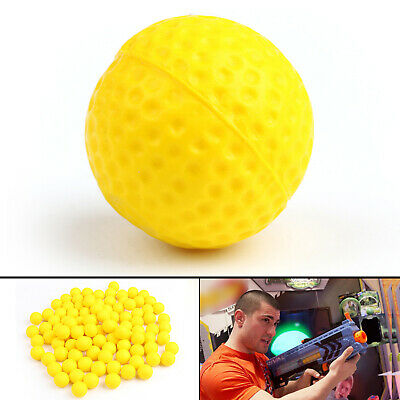 100x Round Refill Pack Replace Bullet Balls for Rival Apollo Zeus Toy Gun