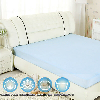 Incontinence Bed Pads Washable Sheets Seat Waterproof Protection Mattress 1x2m