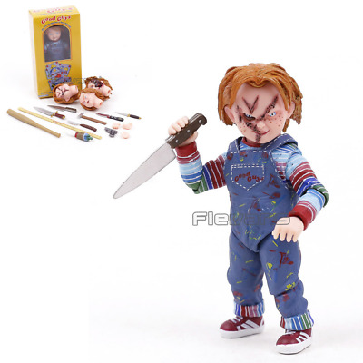 NECA Chucky Doll 4in. Ultimate Child's Play Good Guys Action Figure New Toy Gift