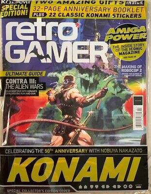 RETRO GAMER KONAM SPECIAL EDITION Magazine Issue 07 SEALED