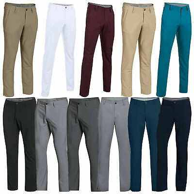 Under Armour Ua Mens Matchplay Tapered Leg Golf Performance Trousers (1253492)