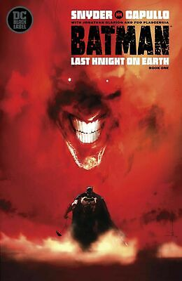 Batman: Last Knight on Earth #1 Jock variant__NM or better__DC Black Label