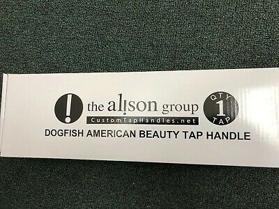 """Brand New In Box Dogfish Head GRATEFUL DEAD American Beauty 12.5"""" Tap Handle"""