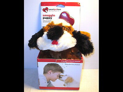 Smart Pet Love Snuggle Puppy Anxiety Training Aid Calm Dog Naturally Heartbeat