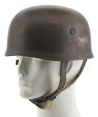 GERMAN WW2 PARATROOPER FALLSCHIRMJAGER HELMET HAND AGED Free shipping from USA