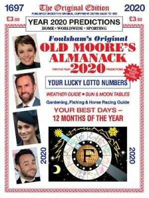 Old Moore's Almanac 2020 by Francis Moore 9780572047818 | Brand New