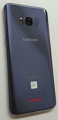 Samsung Galaxy S8 Sprint 64GB Orchid Gray 5.8in SM-G950U Clean ESN Good