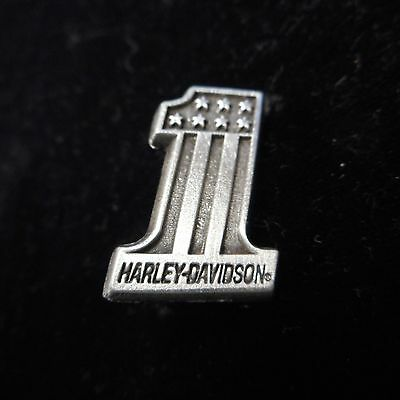 HARLEY DAVIDSON OLD CLASSIC   PIN (( # 1WITH SHIELD)) APROX 1  INCH high