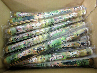 New Border Terrier Pet Dog Designer Roller Ball Pen - 50 Pens - By Ruth Maystead