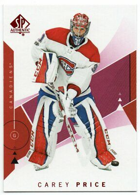 2018-19 SP Authentic Limited Red Parallel Pick Any Complete Your Set Odd 1:6