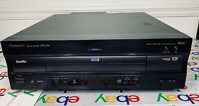 PIONEER DVL-919 Laser Disc DVD Player Excellent Working Condition Vintage RARE