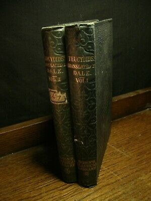 1878 - The History of the Peloponnesian War - Thucydides - Dale ATHENS VS SPARTA