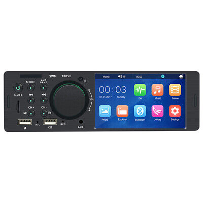 4''1 Din Car Radio BT MP5 Player AM/FM/DVR/