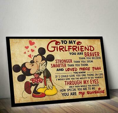 MICKEY MINNIE MOUSE To My Wife You Are Braver Than You Believe