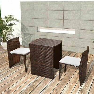 4 X CHAISES Bistro poly rotin empilable nature - EUR 86,82 | PicClick FR
