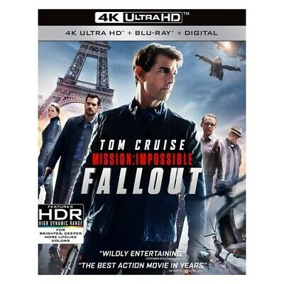 Paramount - Uni Dist Corp Br59198167 Mission Impossible-Fallout (4K/Blu-Ray/D...