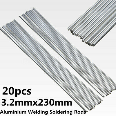 20PCS 3.2mmx 230mm Low Temperature Aluminum Welding Solder Wire Repair Rods