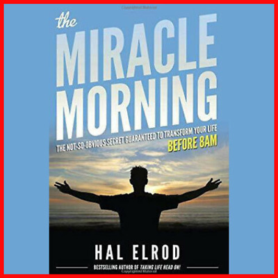 The Miracle Morning by Hal Elrod Fast Delivery