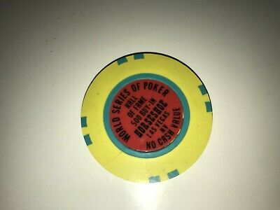 Binion's Horseshoe 500 Buy In 1993 World Series OF Poker Casino Chip Las Vegas